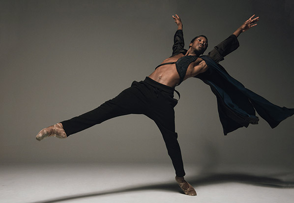 Calvin Royal III, American Ballet Theatre. Photo by Mark Seliger.