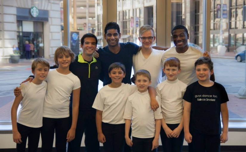 Ballet in Cleveland: Guys Dance Too